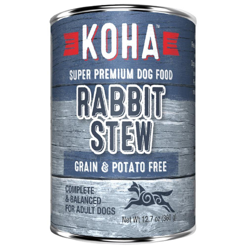 KOHA Rabbit Stew Grain-Free Canned Dog Food (12.7-oz can, case of 12)