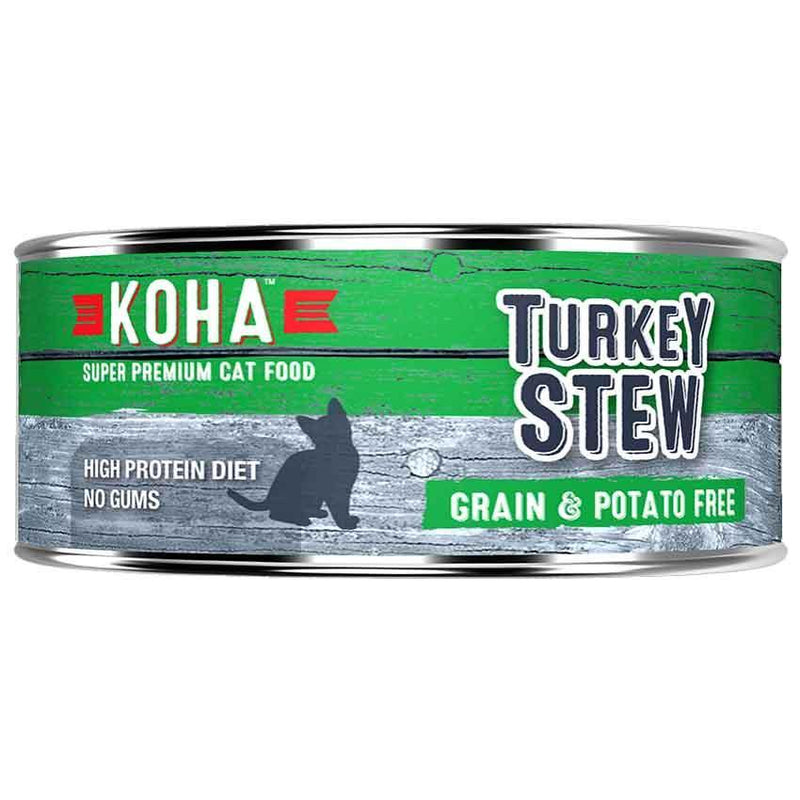 KOHA Turkey Stew Grain-Free Canned Cat Food (5.5 oz)