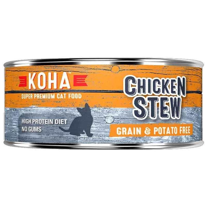 KOHA Chicken Stew Grain-Free Canned Cat Food (5.5 oz)