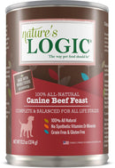 Nature's Logic Canine Beef Feast Grain-Free Canned Dog Food (13.2-oz, case of 12)