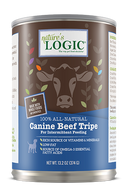 Nature's Logic Canine Beef Trip Feast Grain-Free Canned Dog Food (13.2-oz, case of 12)