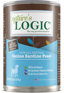 Nature's Logic Canine Sardine Feast Grain-Free Canned Dog Food (13.2-oz, case of 12)