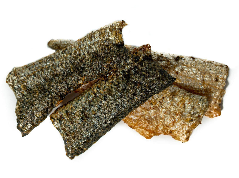 Only One Treats Wild Pacific Salmon Skin Strips Dog Treats (85-g bag)