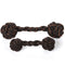 P.L.A.Y Pet Barbell Rope Dog Toy, Small/Large