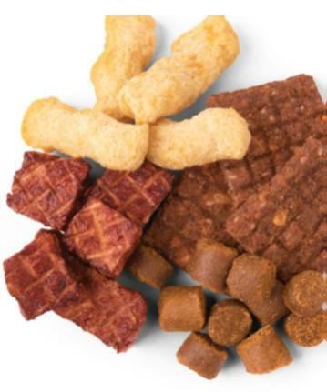 Jays Tasty Adventures Beef N' Bacon Snack Mix Dog Treats (200-g bag) - Petanada