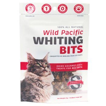 Snack 21 Pacific Whiting for Cats, 25g bag