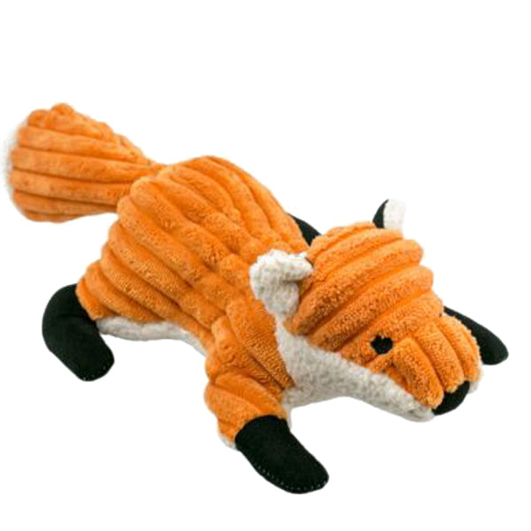 Tall Tails Fox with Squeaker Plush Dog Toy