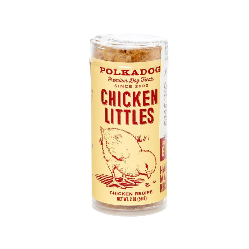 Polkadog Bakery Chicken Littles Bits Dog & Cat Treats (2-oz tube)