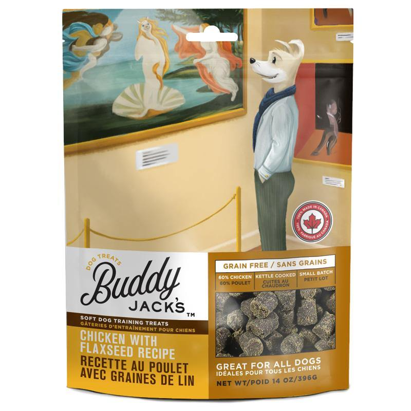 Buddy Jack's Chicken with Flaxseed Recipe Grain-Free Dog Treats