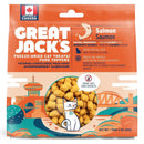 Great Jack's Salmon Freeze-Dried Grain-Free Cat Treats