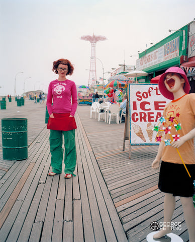 Coney Island board walk vendor