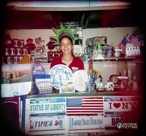 Tourist Junk NYC shot with Lomo
