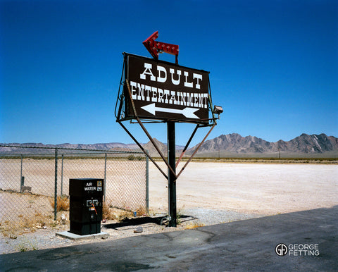 Gasoline stop middle of nowhere Nevada Desert