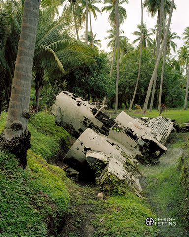 Historic WWII Bomber Rabaul PNG