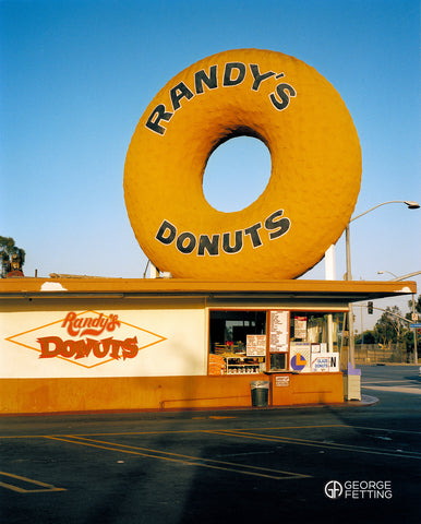 Fast food in America is everywhere but Randy's doughnuts is old school and the real deal LA