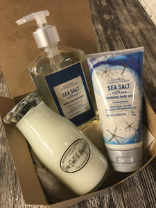 Relaxing Sea Salt Care Package