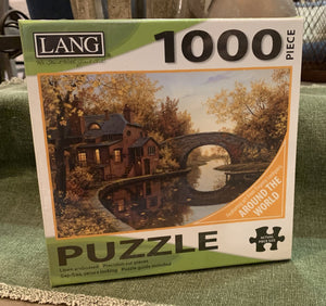 LANG Around the World 1000-Piece Puzzle