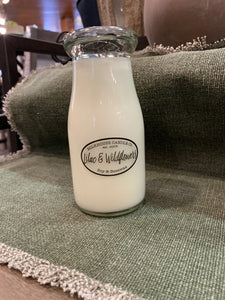 Milkhouse Candle Co. Milkbottle Candles