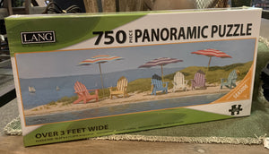 LANG Summer Colors 750-Piece Panoramic Puzzle
