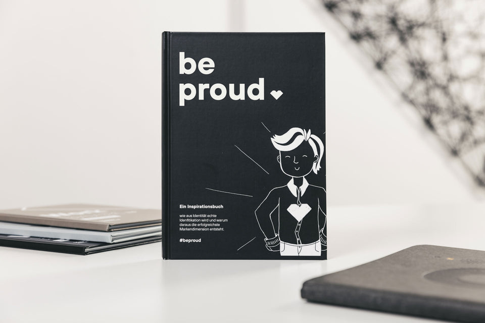 #beproud – Inspirationsbuch