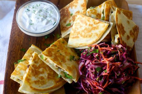 Charred Cauliflower Quesadillas via smitten kitchen