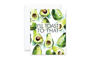 Avocado TOAST Greeting Card by pixelimpress