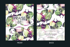 PRAISE BE Coconut Watercolor Greeting Card