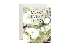 MERRY EVERYTHING Boxed Set Holiday Marble Cards