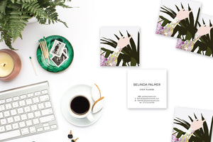 Hand with Plant Calling Cards | Blogger Cards | Business Cards Lifestyle