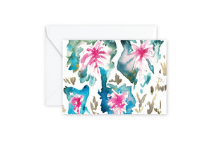 Caladium Watercolor Notecards