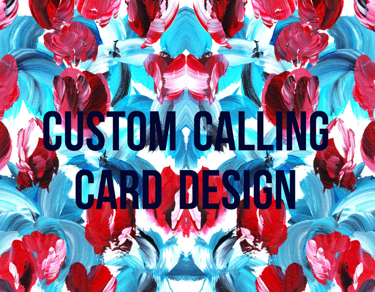 Custom CC Design Fee | Existing Design