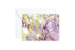 Magenta Marble Notecards