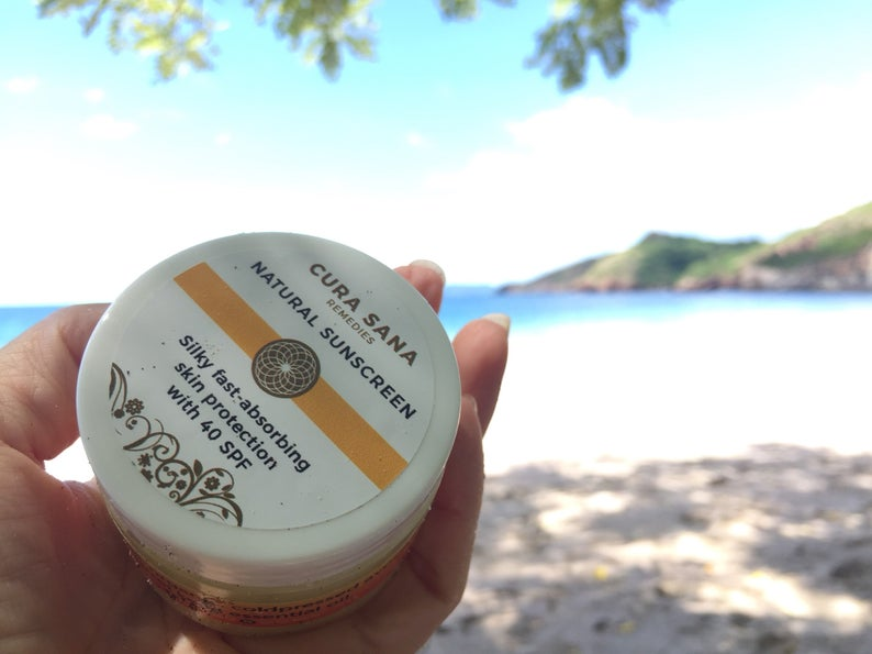 All-Natural 40SPF Sunscreen - Nourish and Protect Your Delicate Skin