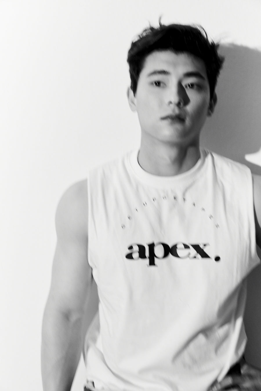 APEX SLOGAN MUSCLE TANK