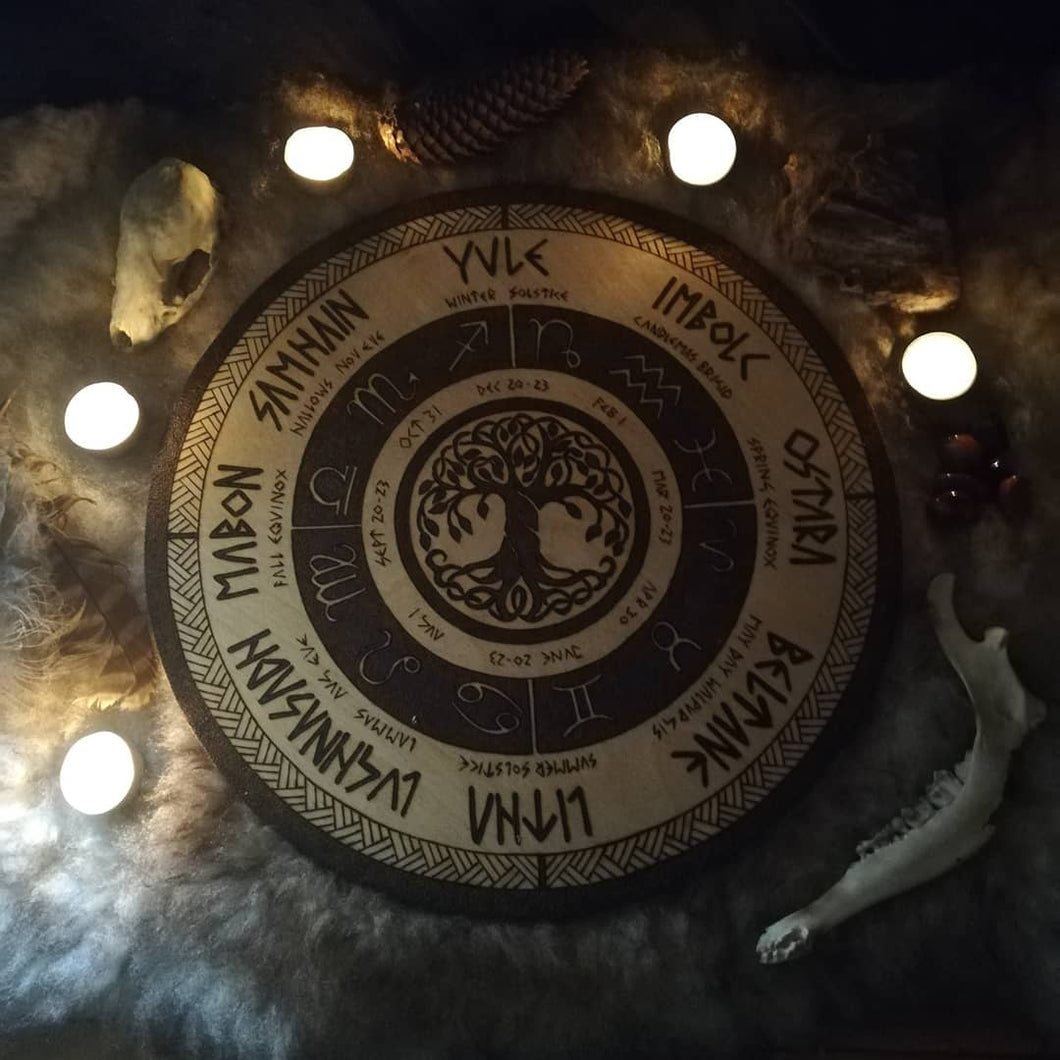 Yggdrasil Wheel of the Year