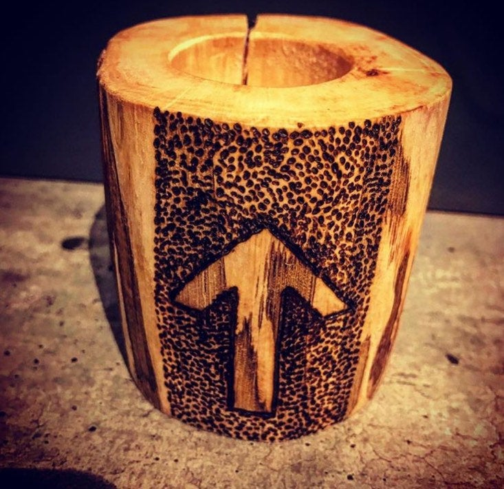 Rune Tea Light Holder