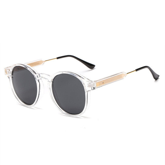 XojoX Round Sunglasses Men Women Vintage Brand Designer Fashion Sun Glasses ladies Sunglass Retro Glasses Shades UV400