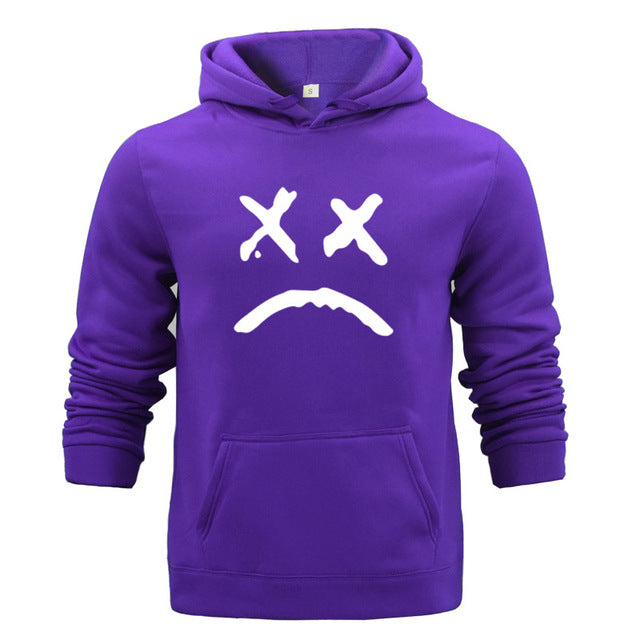 2019 Autumn Fashion Color Hoodies Men's Thick Clothes Winter Sweatshirts Men Hip Hop Streetwear Solid Fleece Hoody Man Clothing