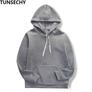 2019 Autumn Men's Hoodies Slim Hooded Sweatshirts Mens Coats Male Casual Sportswear Streetwear Brand Clothing
