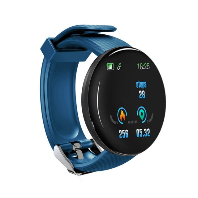 Bluetooth Smart Watch Wristband Blood Pressure Round Smartwatch  For Android iOS Men Women Watch Waterproof Sport Tracker