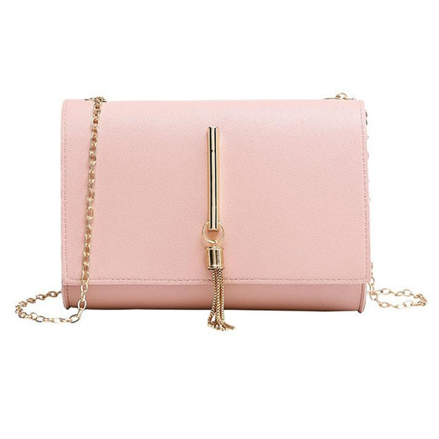 Mini Chain Bags Single Shoulder Small Square Bag Tassel Pendant Shopping Diagonal Cross Package