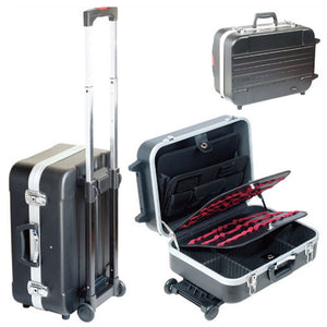 Brand Pro'sKit TC-311 Heavy-Duty ABS Case With Wheels And Telescoping Handle Draw-bar Box Tool Luggage Box