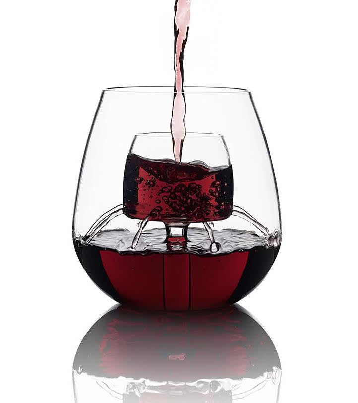 Stemless Aerating Wine Glass Chevalier Collection Ltd