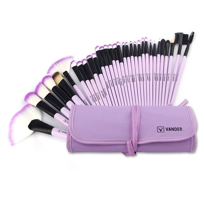 Make up Brushes, VANDER Professional 32pcs Makeup Brush Set, Makeup Brushes Set Foundation Blending Cosmetic Brush Set Kit - PUERTO RICO