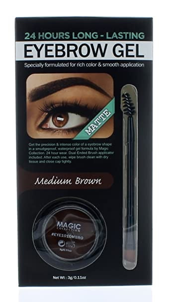 "Magic Eyebrow (CEJAS) Gel - Brown ""A prueba de agua""- REPUBLICA DOMINICANA"