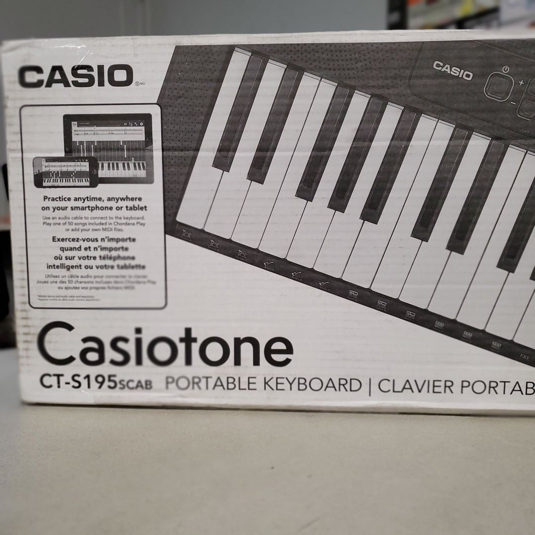 Casiotone CT-S195scab Portable Keyboard