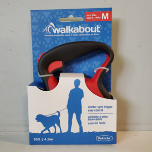 Walkabout Retractable 16ft Leash