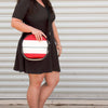 Firehose Round Shoulder Bag