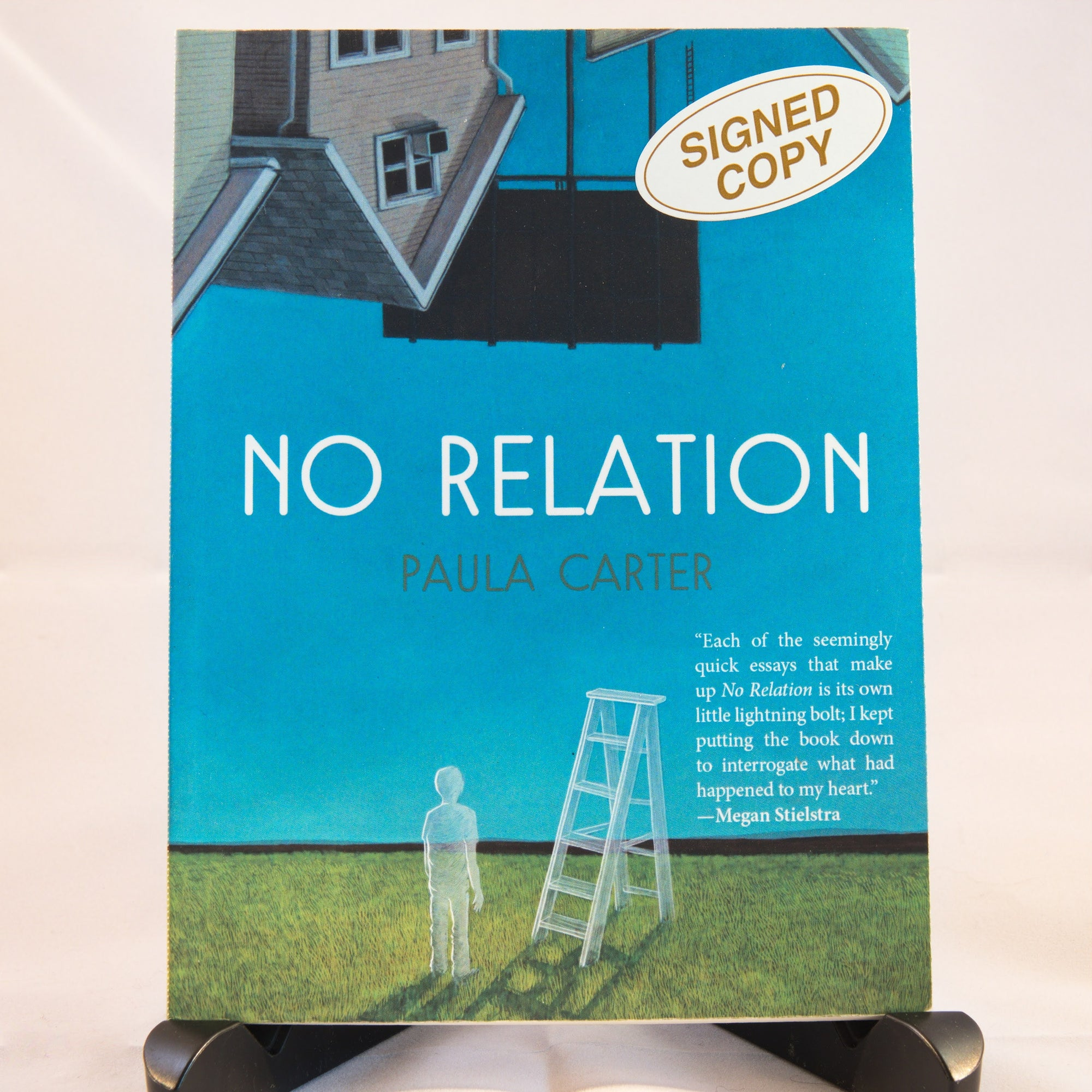 No Relation by author Paula Carter - signed edition (IS)