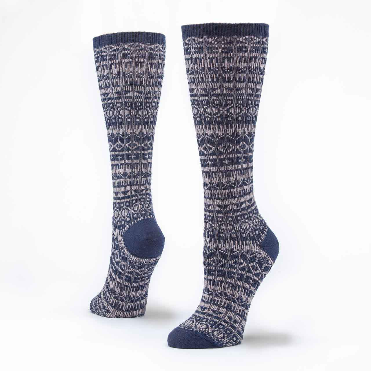 Organic Wool & Cotton Knee Hi Socks (IS)